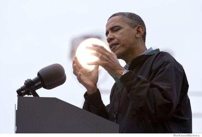Super Saiyan Obama