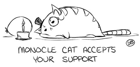 Cat Monocle