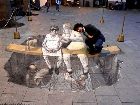 3D Graffiti Art 2 by Eduardo Relero