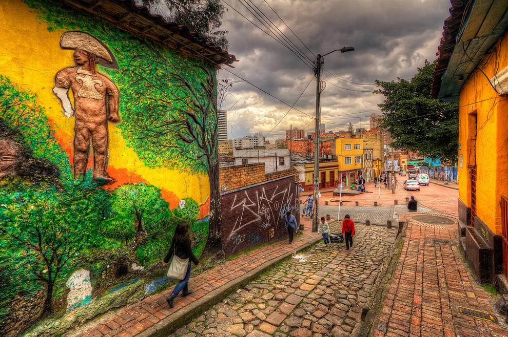 Street Art in Bogota, Columbia