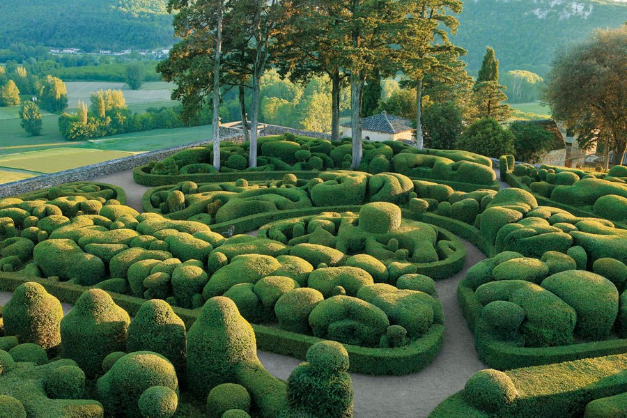 The Gardens at Marqueyssac, France
